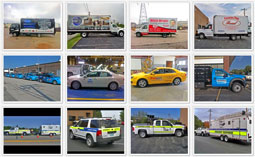 Our Fleet Graphic Portfolio of Work